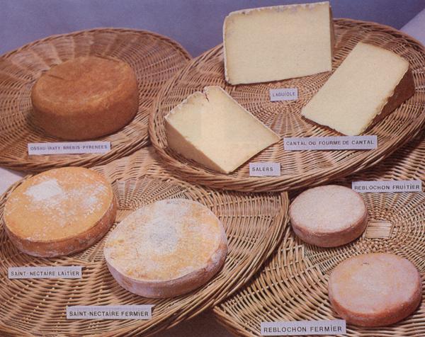 recettes les fromages 224 pate press 233 e non cuite